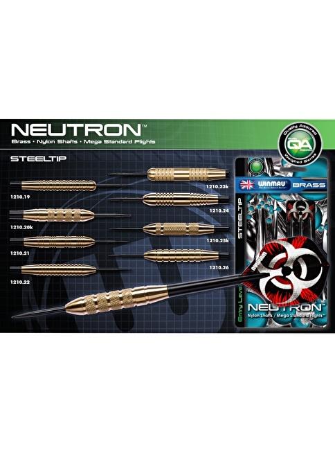 Winmau Neutron Brass Çelik Uçlu Dart-25k Gram Renkli